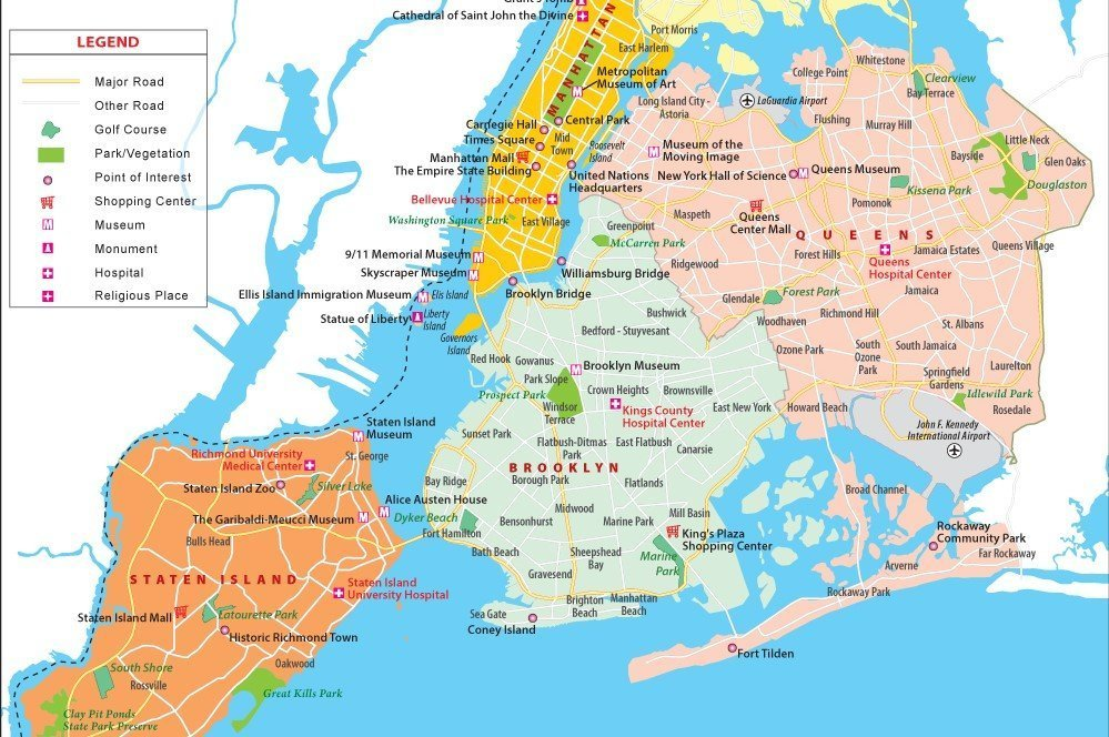 New York fortificata