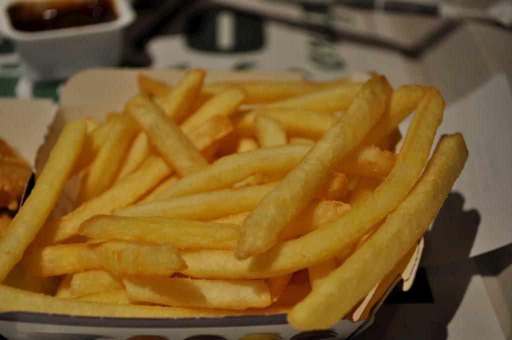 trashfood cecità patatine fritte