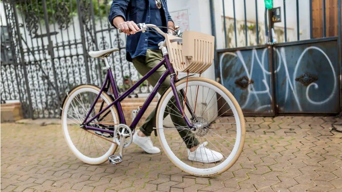 Una bici d'alluminio per drogati di caffè