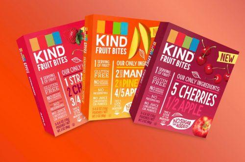 coloranti fanno naufragare gli snack di frutta