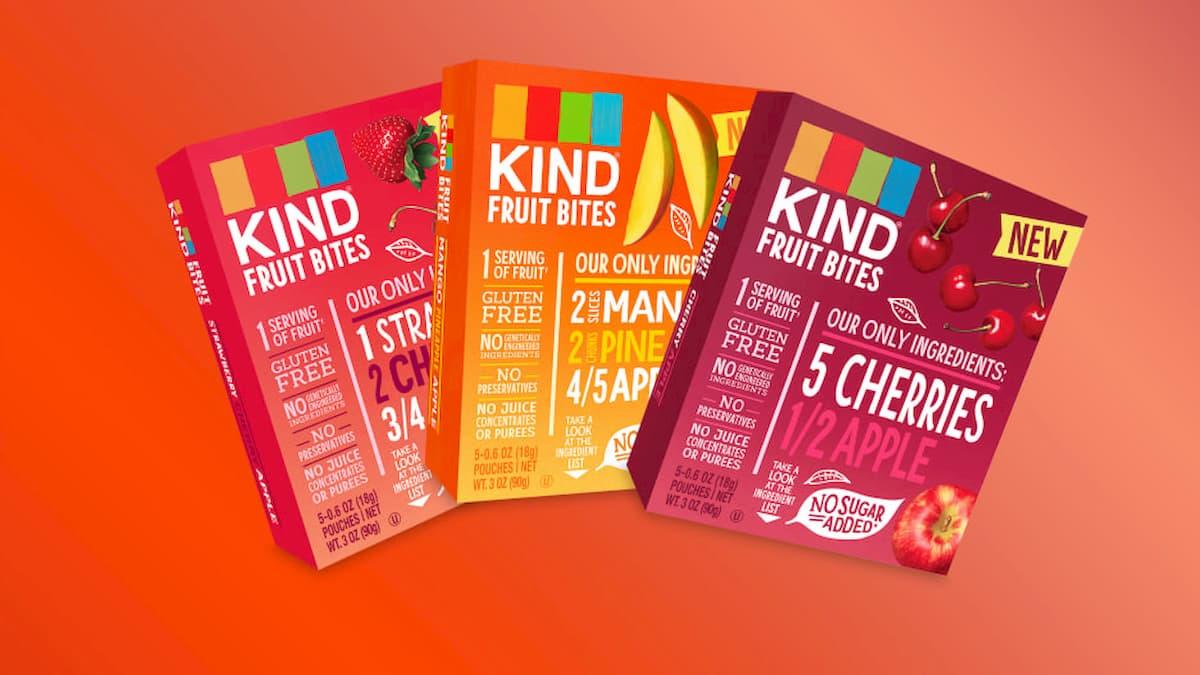 I coloranti fanno naufragare gli snack di frutta