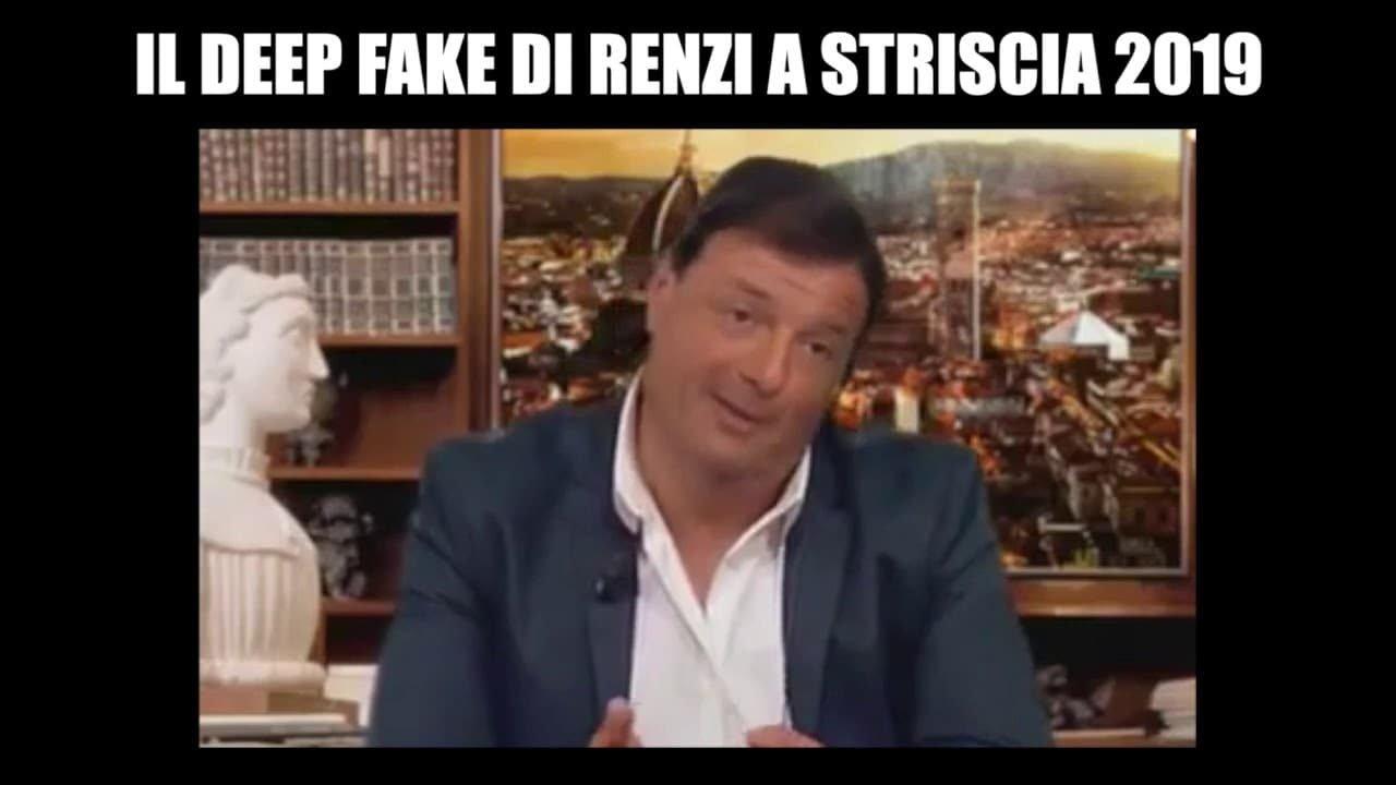 Abbiamo passato il segno col deep fake di Renzi