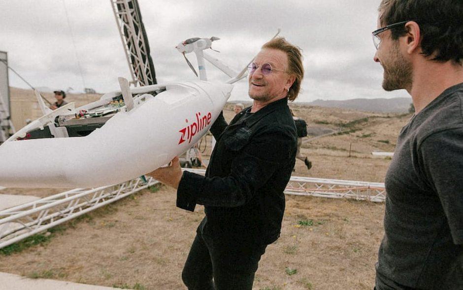 Bono Vox si dà ai droni