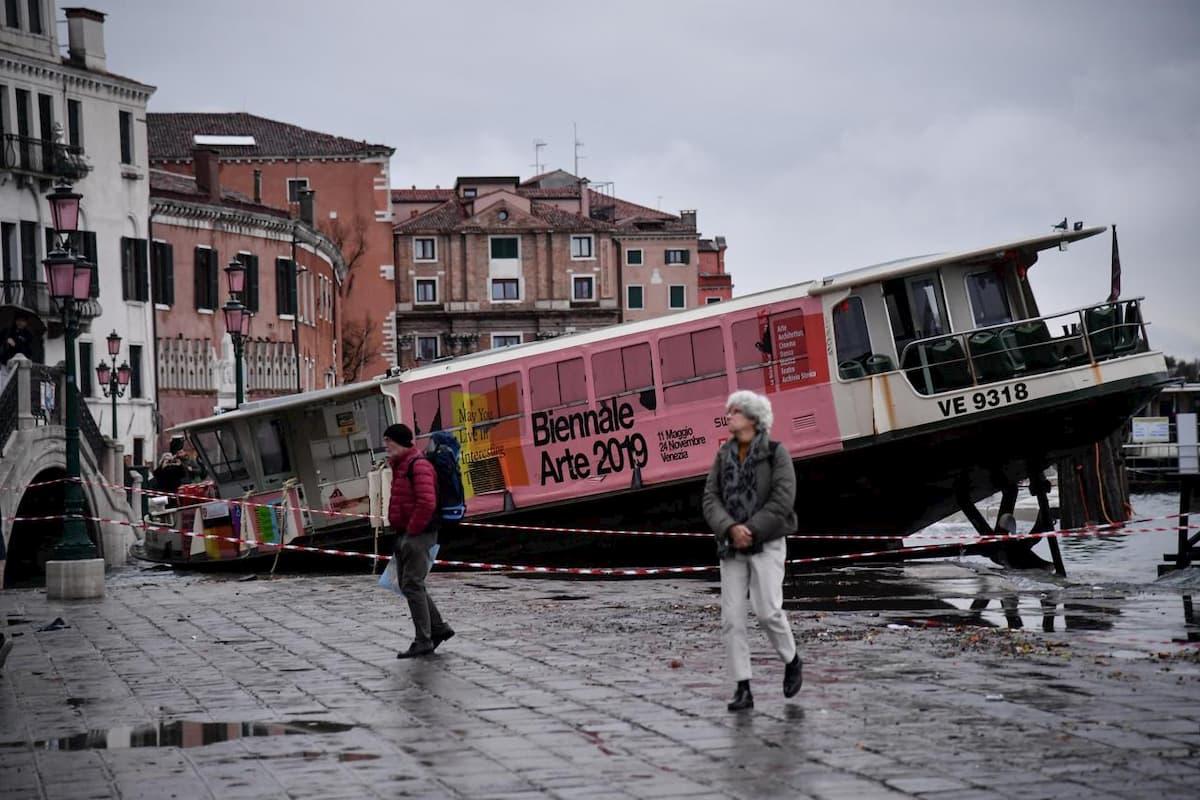 Venezia una lenta agonia senza il MOSE