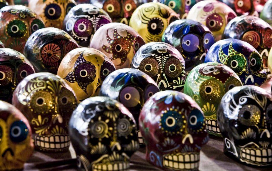 dia de los muertos festa messicana