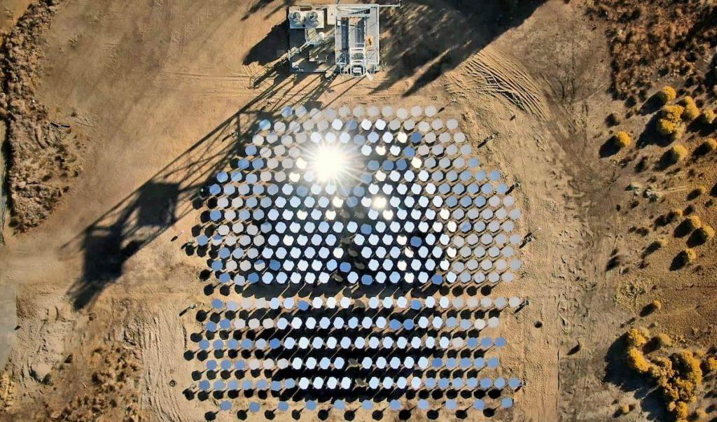 energia solare concentrata per il futuro