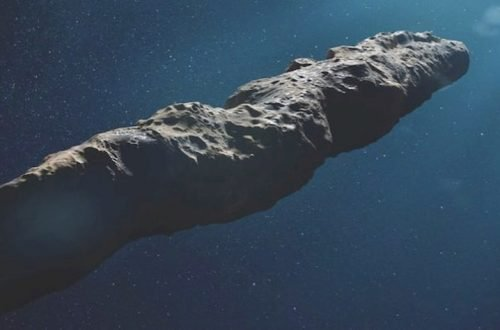 meteorite cometa o sonda aliena