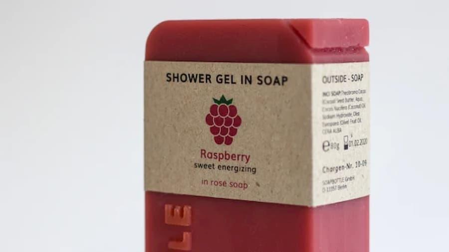 il sapone diventa il contenitore del futuro