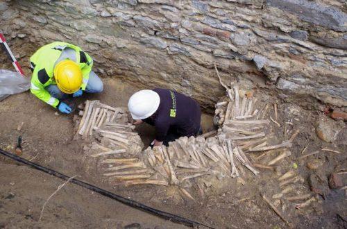 un segreto nelle fondamenta della cattedrale di Gand