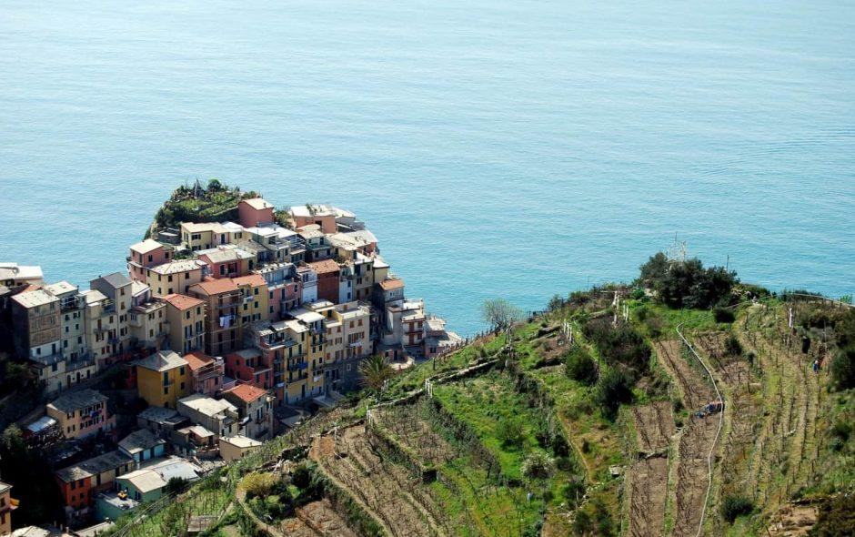 I muretti a secco delle Cinque Terre un simbolo nazionale