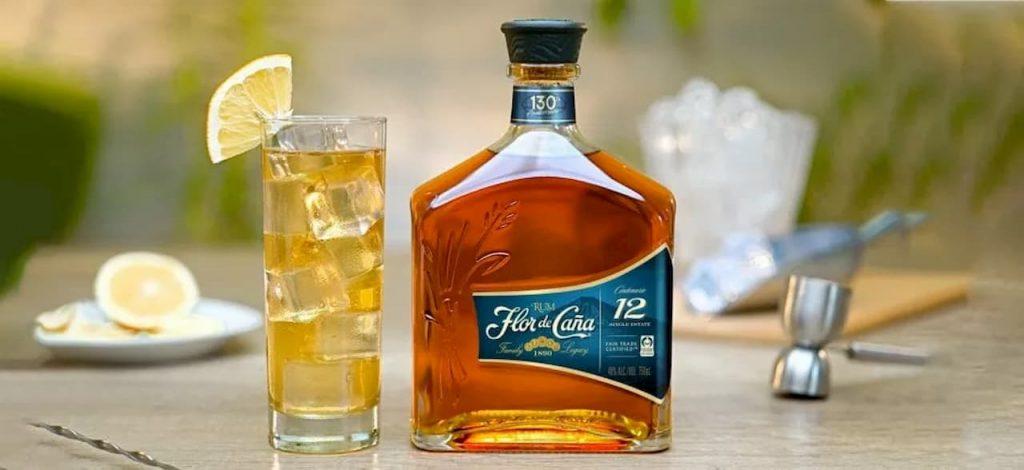 Flor de Caña rum autenticamente etico