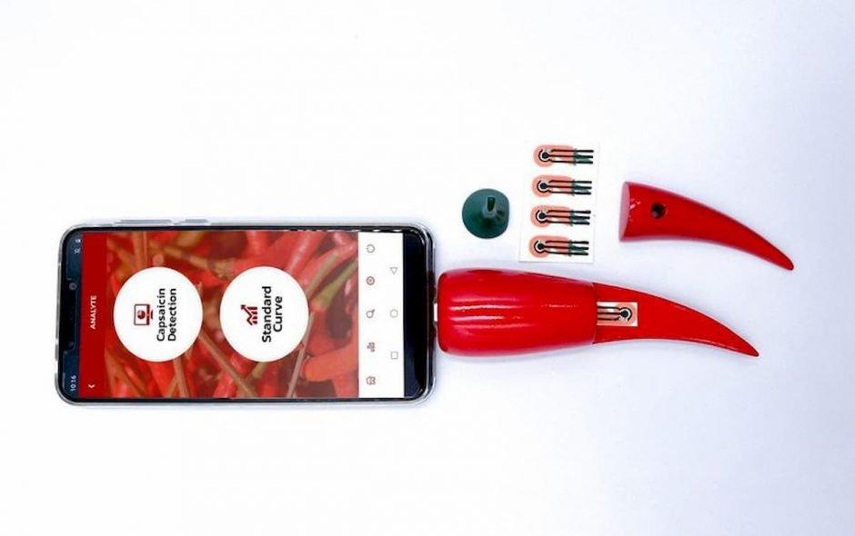 Un'app può misurare la piccantezza di un peperoncino