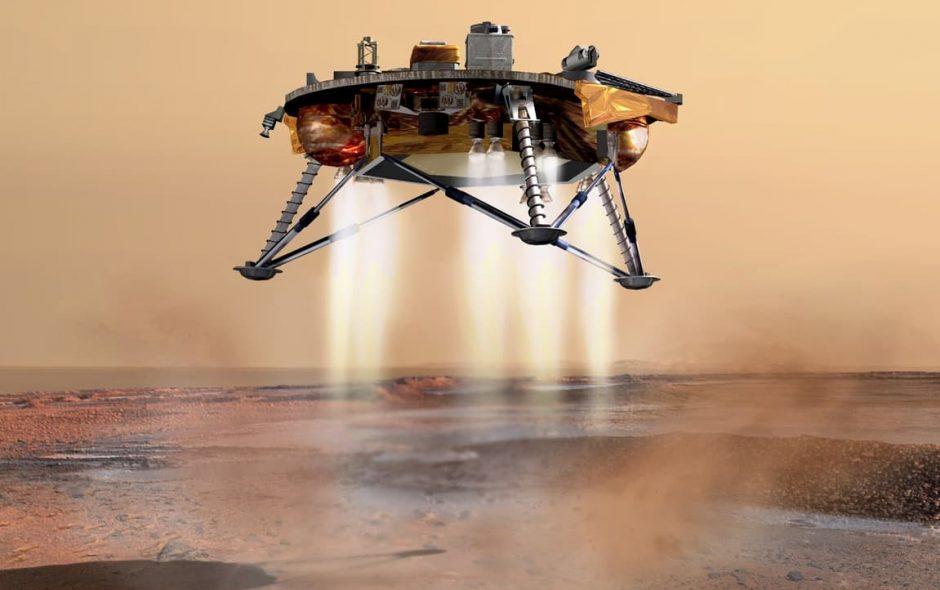 Un orto funzionante su Marte