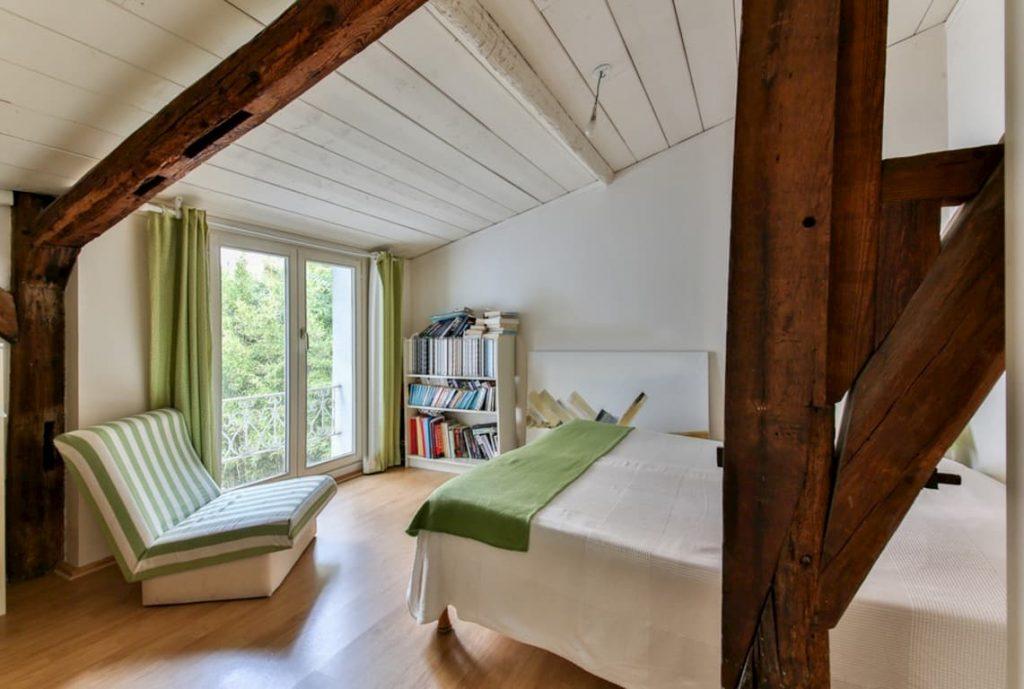 Solo legno in un nuovo quartiere di Copenaghen