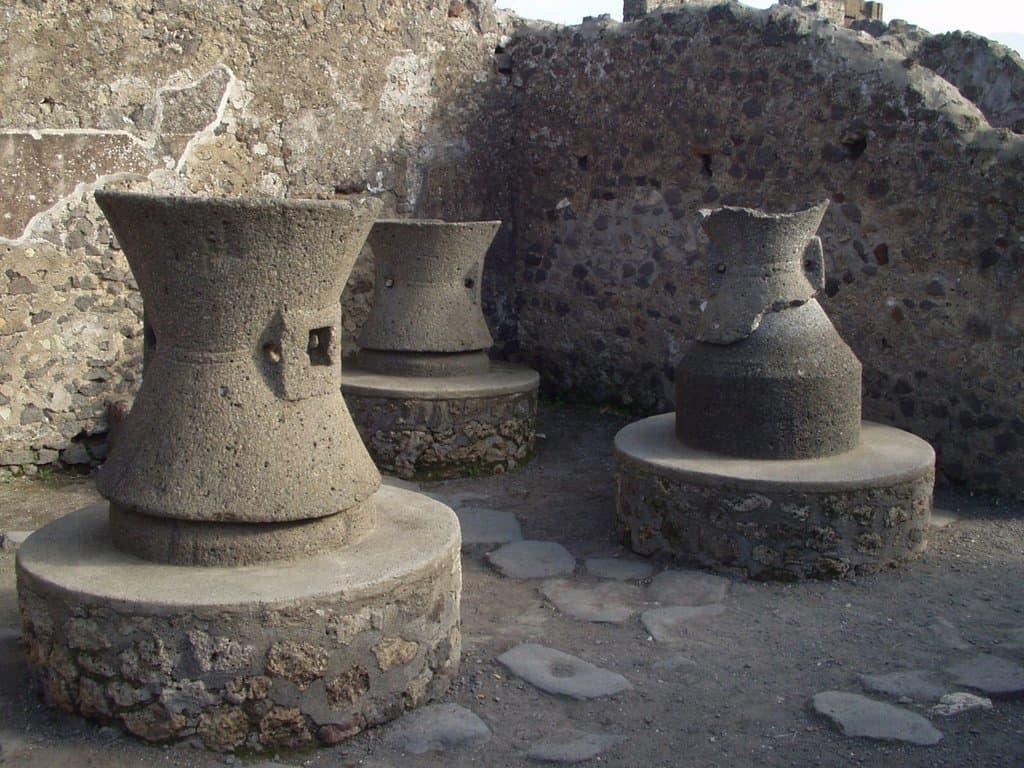 Le isole ecologiche di Pompei