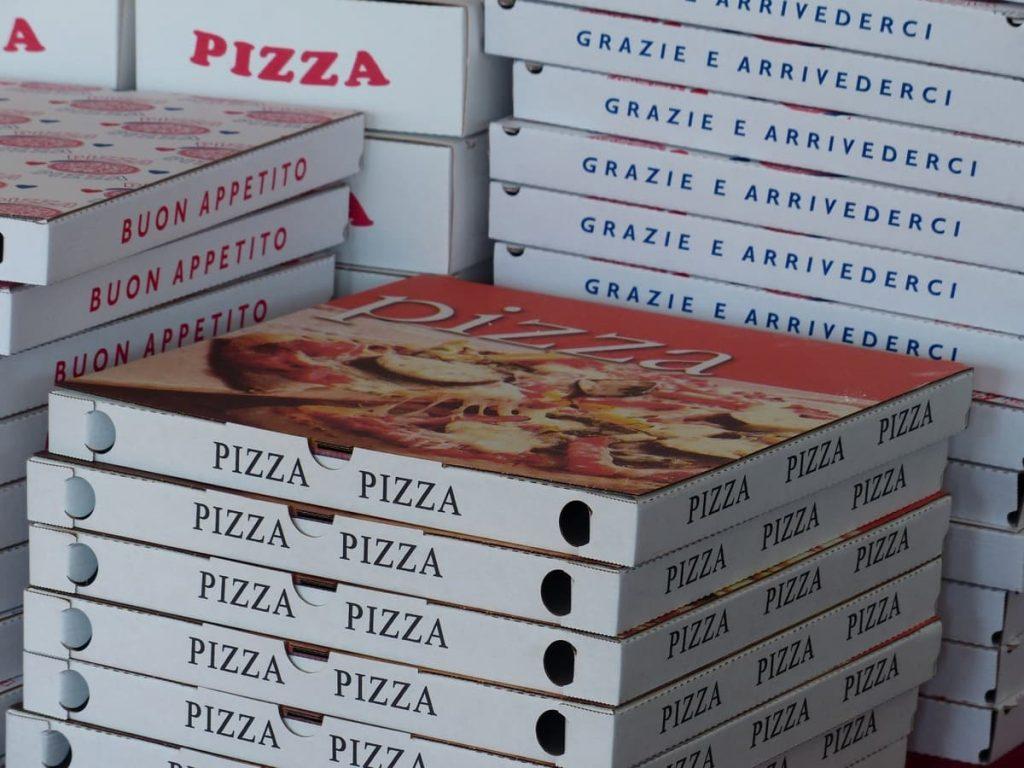 Pizza e partita un binomio indissolubile