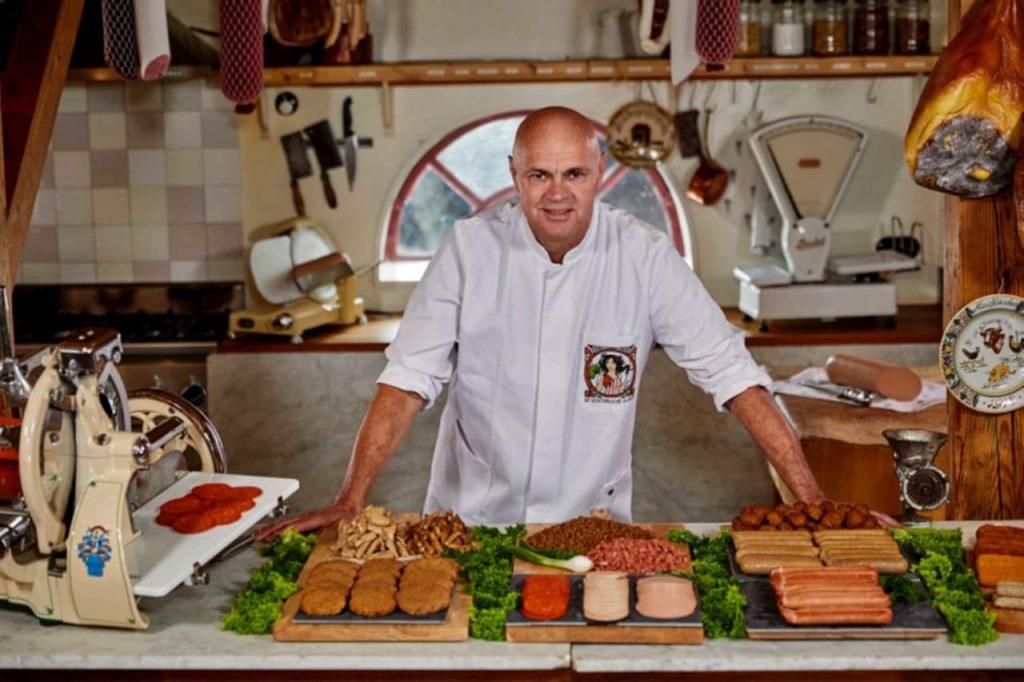 Il macellaio vegetariano sta diventando famoso